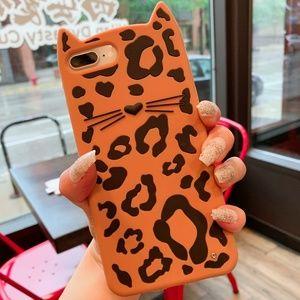 Accessories - Cute Cat Flexible Silicone Phone Case